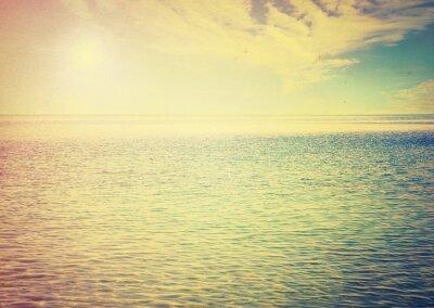 Vinilo Hermoso cielo y mar azul