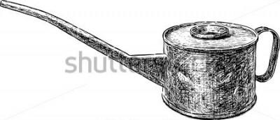 Vinilo Hervidor de cobre viejo