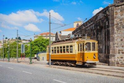 Vinilo Histórico tranvía, Porto