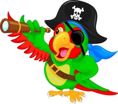 Vinilo Historieta del loro del pirata