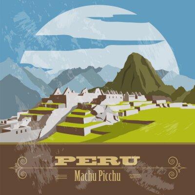 Vinilo Hitos Perú. Estilo retro imagen.
