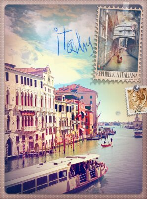 Vinilo Holidays in Italy and Venice series