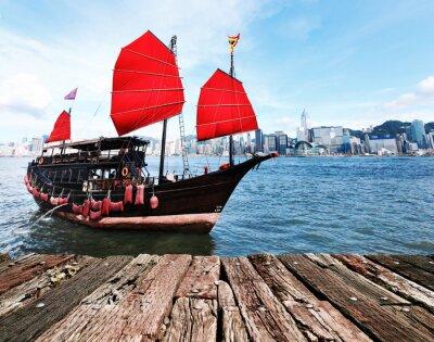Vinilo Hong Kong Harbour