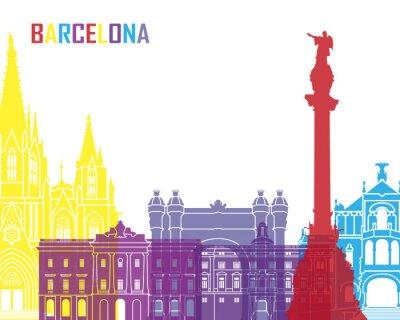 Vinilo Horizonte de Barcelona pop