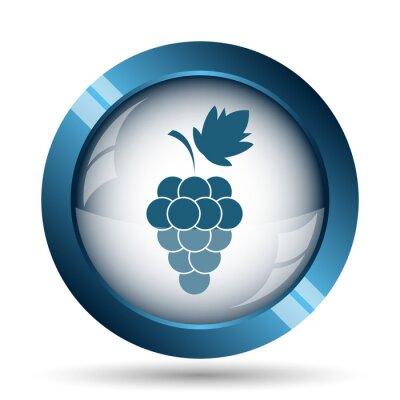 Vinilo Icono de uva