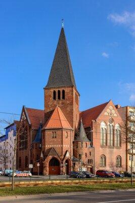 Vinilo Iglesia de Adviento en Berlín Bötzowviertel
