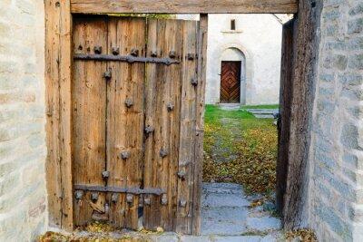 Vinilo iglesia medieval