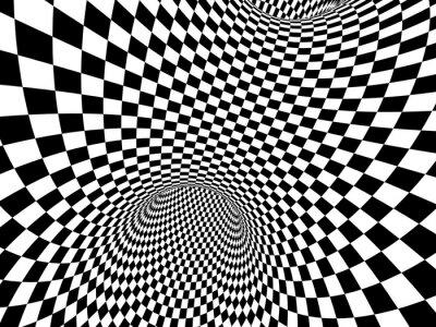 Vinilo Ilusión abstracta