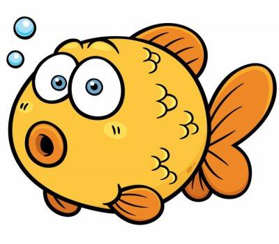 Vinilo Ilustración del vector del Goldfish