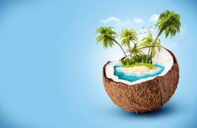 Vinilo isla tropical