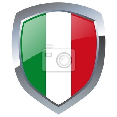 Vinilo Italien Emblema