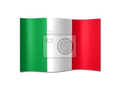 Vinilo Italy flag