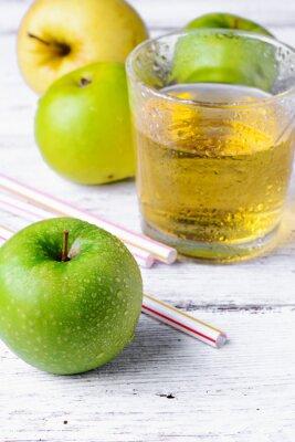 Vinilo Jugo de manzana verde