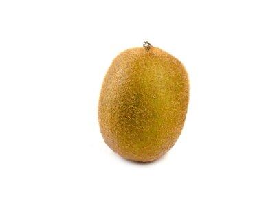 Vinilo Kiwi fruit isolated on white background
