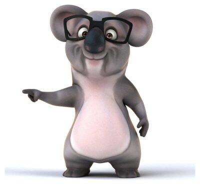 Vinilo Koala divertido