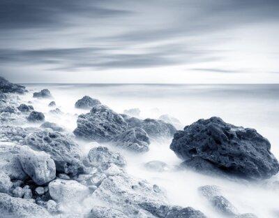Vinilo la costa del mar