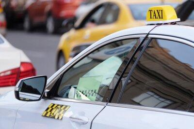 Vinilo La imagen del taxi