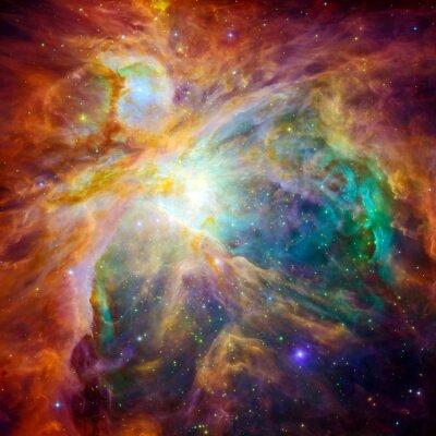 Vinilo La nube cósmica llamada nebulosa de Orión