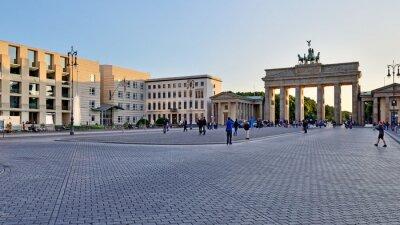 Vinilo La Puerta de Brandenburgo, Berlín