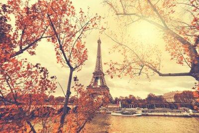 Vinilo La Torre Eiffel en París