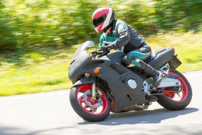 Vinilo Las carreras de Moto