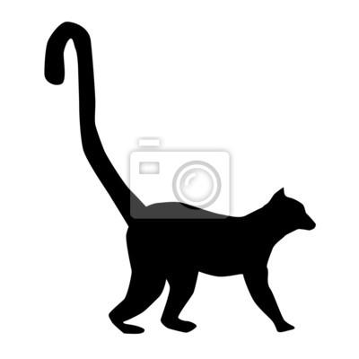 Vinilo Lemur Silueta