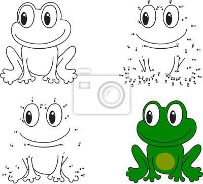 Libro para colorear y juego punto a punto para niños vinilos para ...