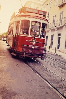 Vinilo Lisbonne (électrique tranvía)
