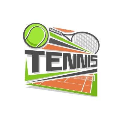Vinilo Logo Tenis