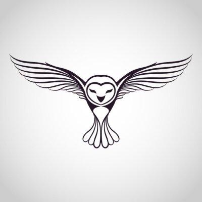 Vinilo logotipo del búho