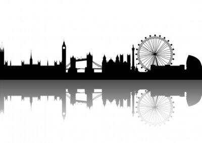 Londres Silueta