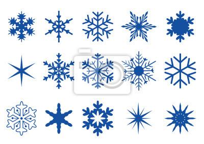 Los cristales de hielo y copos de nieve