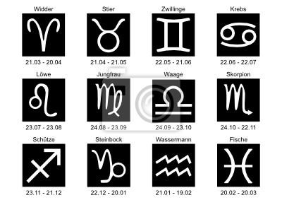 Vinilo Los signos del zodíaco