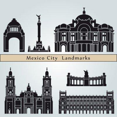Vinilo Lugares y monumentos Ciudad de México