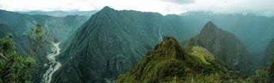 Vinilo Machu Picchu panorámica