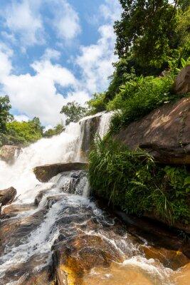 Vinilo Mae klang cascada, doi inthanon parque nacional, Tailandia