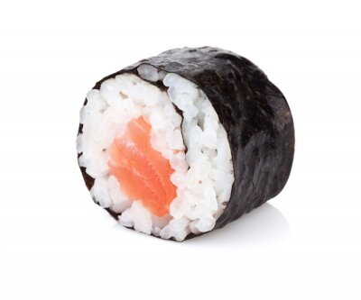 Vinilo Maki sushi con salmón