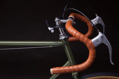 Vinilo Manillar de bicicleta vintage