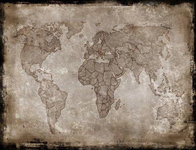 Vinilo Mapa antecedentes de edad