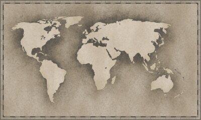 Vinilo mapa de cosecha