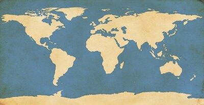 Vinilo Mapa del Mundo Edad