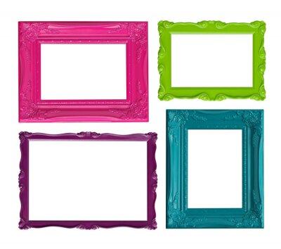 Marcos de cuadros de colores vinilos para portátiles • vinilos para ...