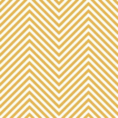 Vinilo Modelo Amarillo Del Zigzag. Ola de fondo en el vector