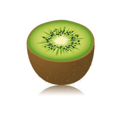 Vinilo Moitié de kiwi