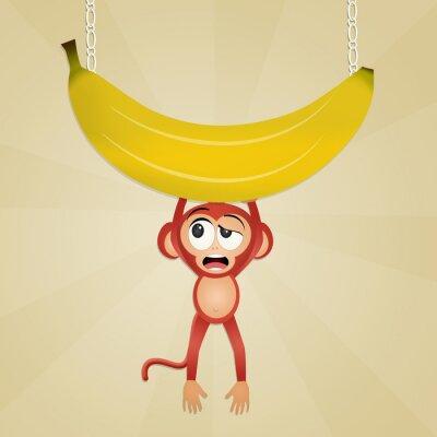 Vinilo Mono con plátano