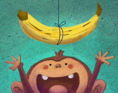 Vinilo mono y plátano