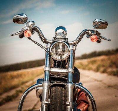 Vinilo Motocicleta en la carretera
