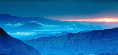 Vinilo mountain panorama on the top view,Blue Mountains