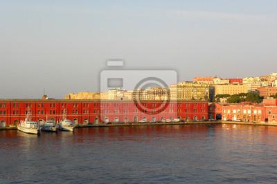 Vinilo Nápoles en la madrugada