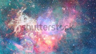 Vinilo Nebulosa en el espacio. Fondo cósmico Elementos de esta imagen proporcionada por la NASA.